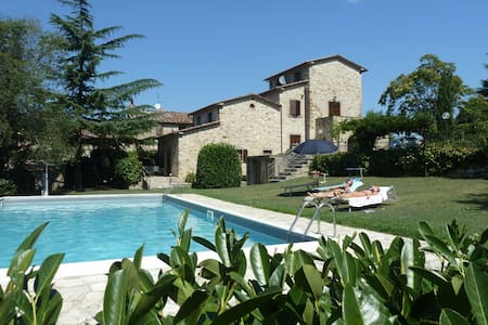 Le Querce country house with pool - Lisciano Niccone