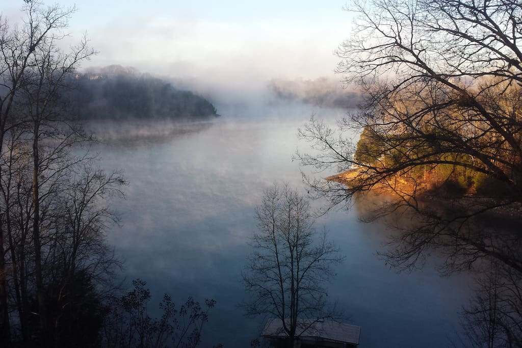 All seasons are wonderful in their own way. The morning fog on a cool winter day is bliss.