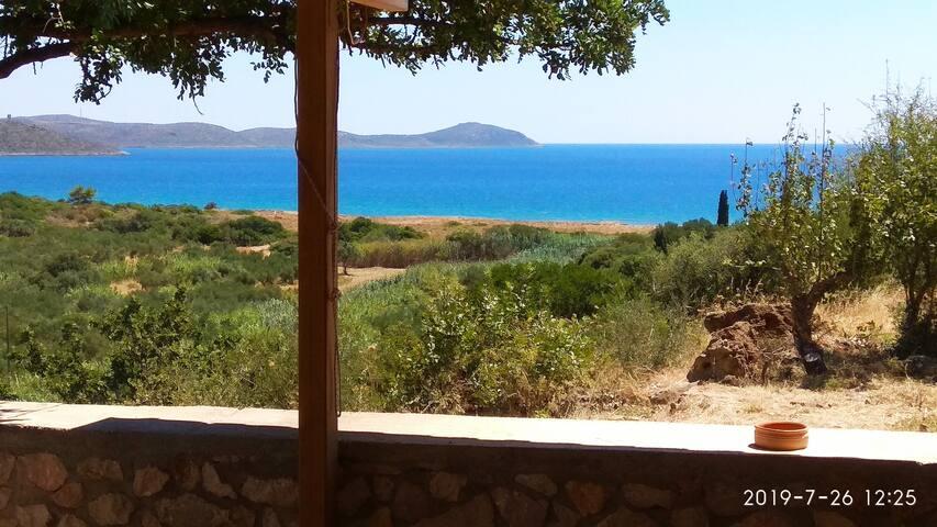 Sea View and Natural Harmony Hause near Monemvasia