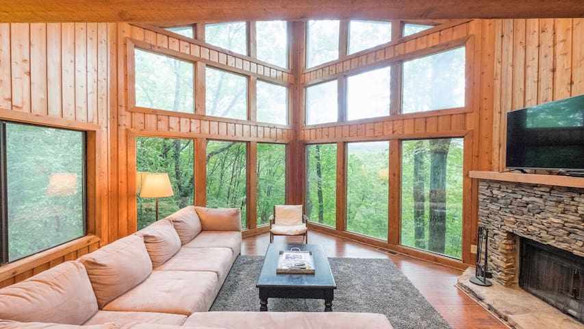 Big Canoe LAKEFRONT! 3 Level Home