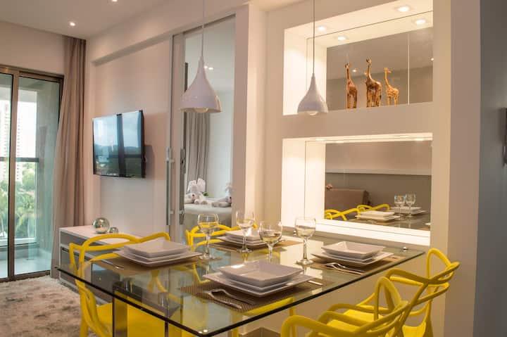 Premium flat Ponta Negra vida 1002