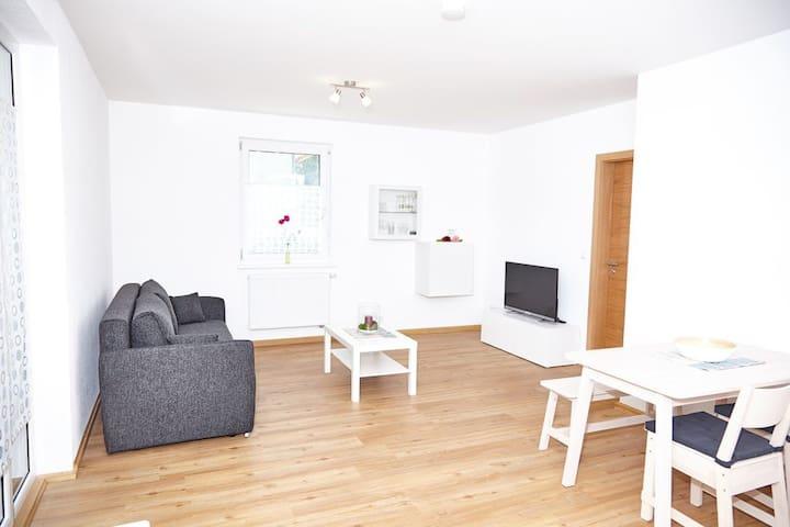 Krug-Apartments (Ebelsbach), Apartment 1 mit Terrasse