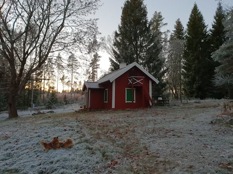 Magical red cottage anno 1780 - 1 h from Stockholm
