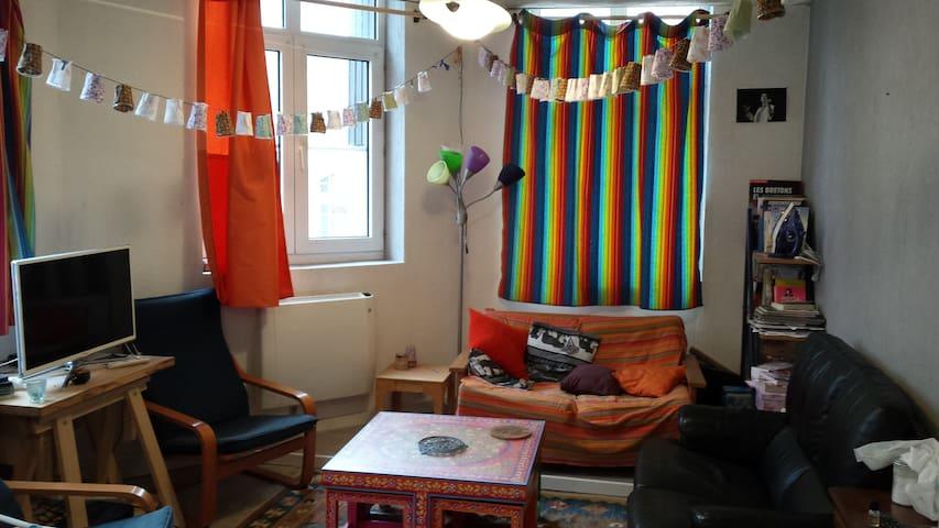 Chambre entre la gare et Saint-Leu - Amiens - Appartement