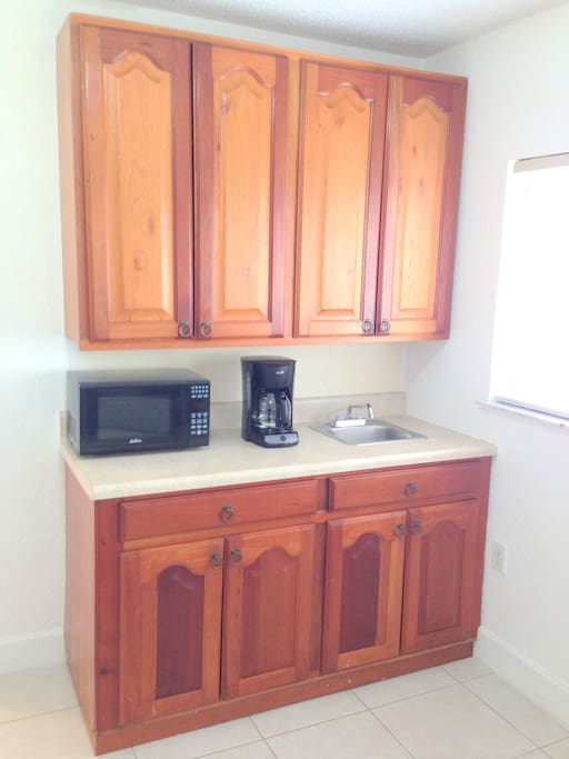 Counter and Appliances