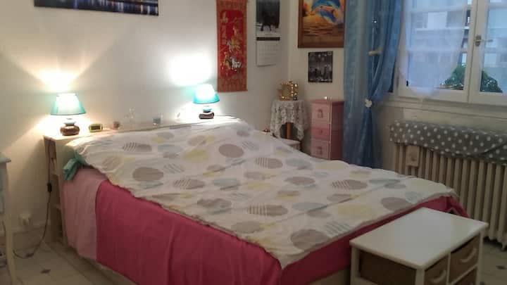 Chambre agréable et spacieuse de 14m2