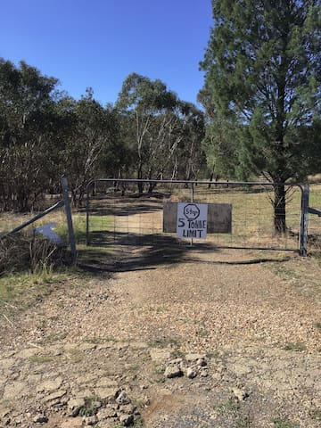 120. Acres farm. With views of Wagga from the hill, quite retreat, our aim is to be self sufficient and organic.