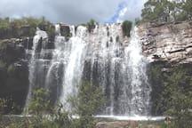 Cachoeira do escorrega. À 3 km da casa dos sonhos.