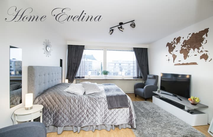 Home Evelina, remontoitu 28m2, Wifi, smart tv.