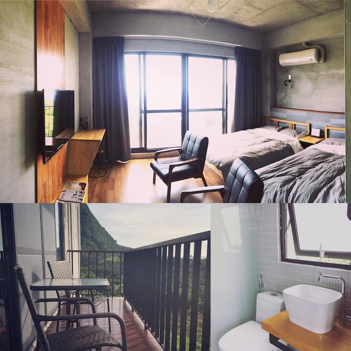 好待goodstay2F海景4人房2double-bed room2F