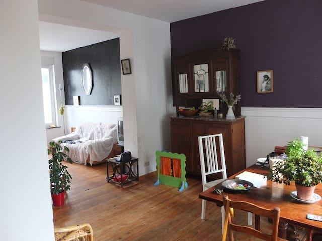 Appartement Duplex avec jardin à 15 min du centre - Linkebeek - Daire