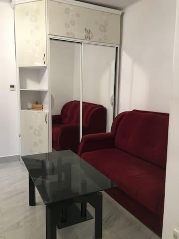 Cozy studio-apartment in Yerevan .