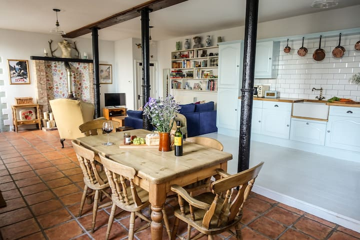Beautiful converted farm stables. - Higher Clovelly - Appartement