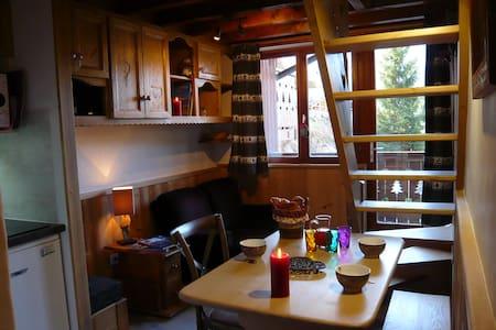 Logement cosy et boisé, piscine, sauna et détente! - Champagny-en-Vanoise - Appartement