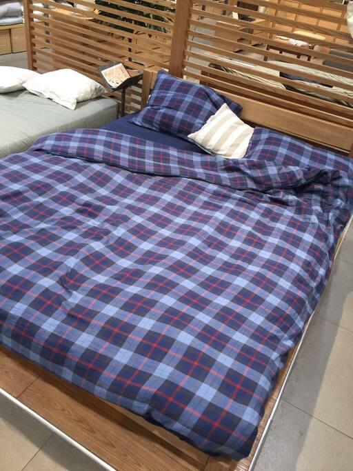 两款床单被罩第一款,都会消毒洗,安全干净卫生