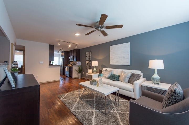 Well-equipped apartment home | 1BR in Houston
