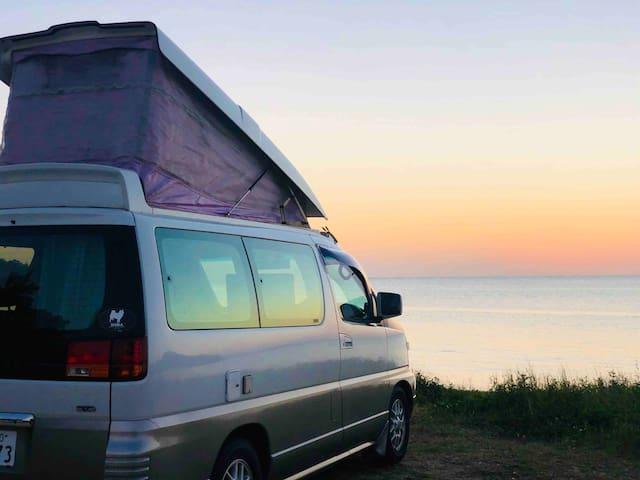 Free & Easy with Camper Van rental キャンピングカーで沖縄満喫!!