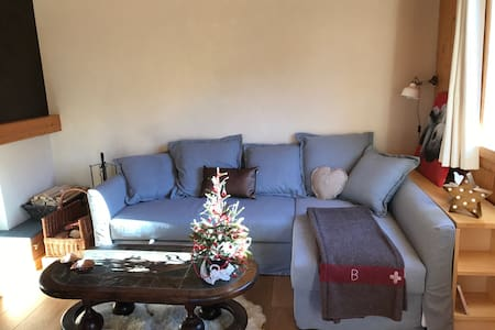 Lovely apartment 15min from Gstaad - Château-d'Oex