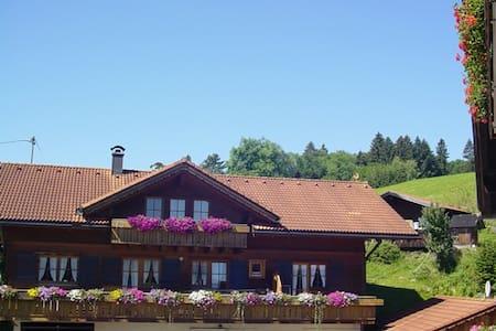 Gemütlichkeit im Holzhaus - Immenstadt im Allgäu - Wohnung