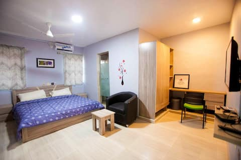 Suite Executive de 5 apartamentos con servicio internacional AGh cerca de U.I