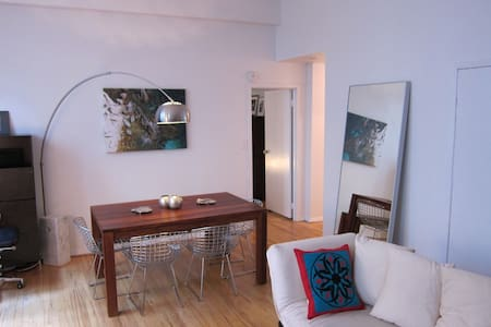 Beautiful 1-bedroom loft-apt with private terrace in Chelsea, near Union Square, West Village and Meat Packing District ! Great winter discounts...