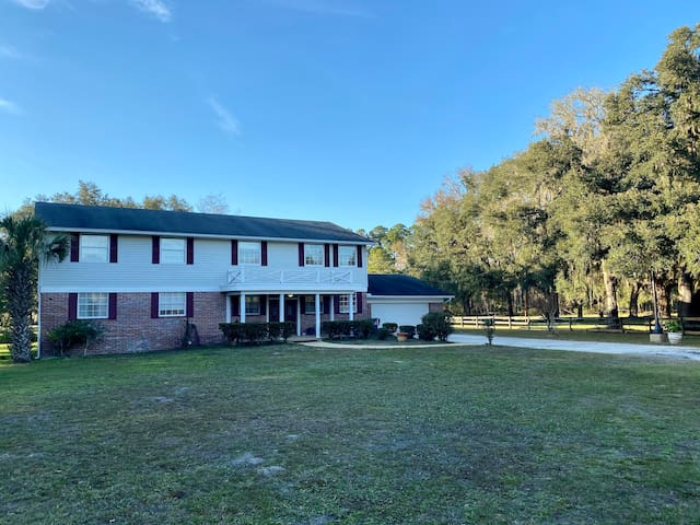 Large Farmhouse located on 34 acres with 2 Ponds!
