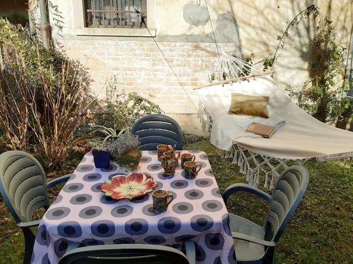 Casa Pusterla: giardino privato WiFi e Biennale