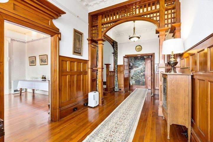 Entrance way and hallway