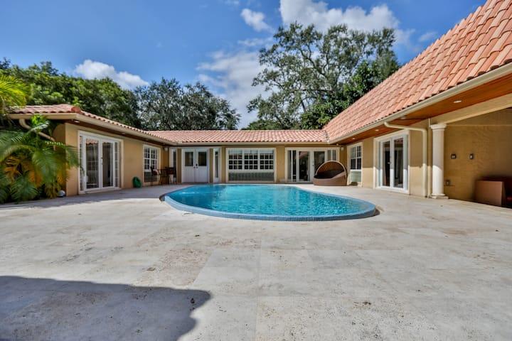 Espectacular casa en Coconut Grove