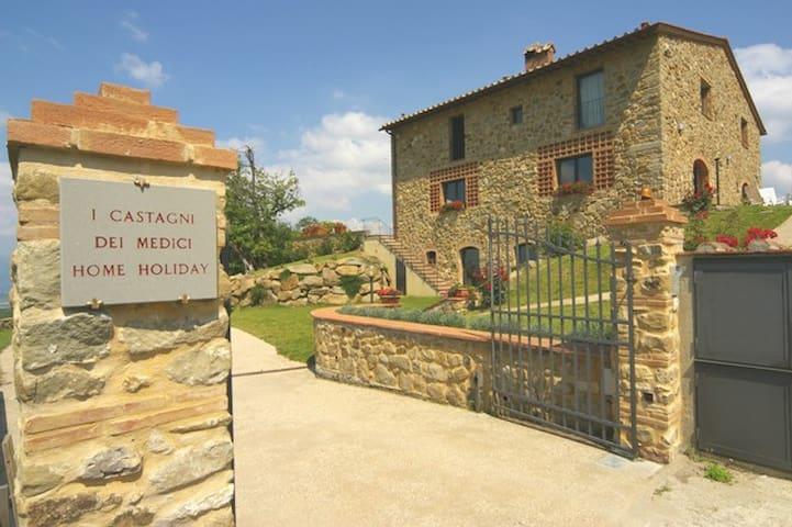 "I CASTAGNI DEI MEDICI ""LORENZO"" - Borgo San Lorenzo - Apartment"