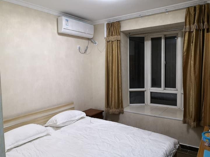 泉友星城公寓A3房间 (独立卫生间,大床房)