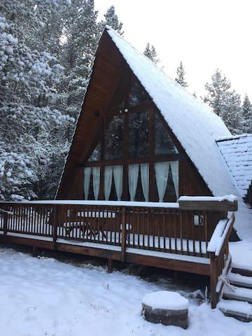 A-frame Mountain Cabin - Blue River - House