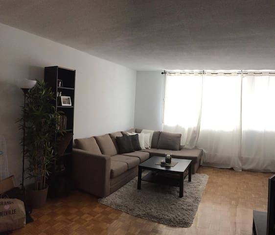 Spacious, furnished & Cozy  3 1/2 in Cote-St-Luc - Côte Saint-Luc - Wohnung