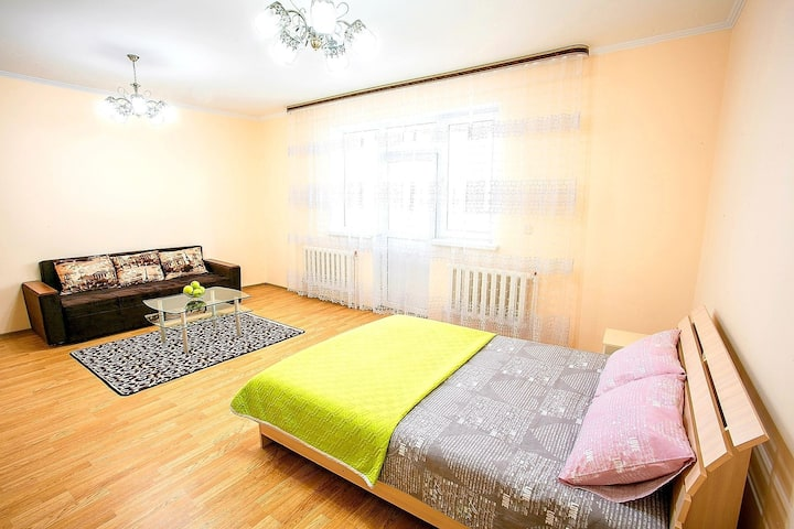 Apartment with perfect view in the Almaty city