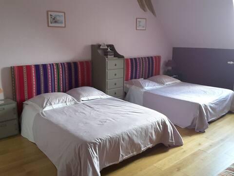 Chambre 1 à 7 couchages