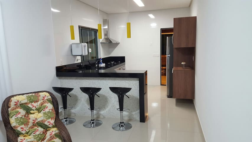 Cozinha toda equipada!