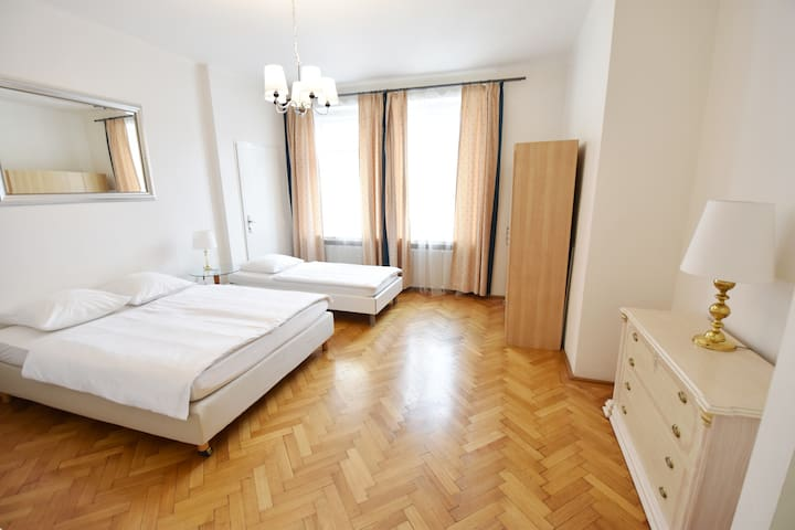 Perfect location 3 BDR apartment with balcony