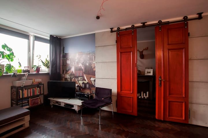 Studio loft between the old town and city center