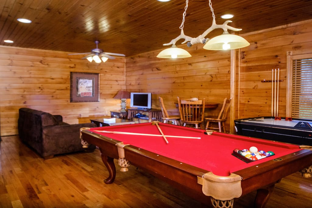 luxury 1 bedroom 2 story cabin in gatlinburg falls cabins for rent