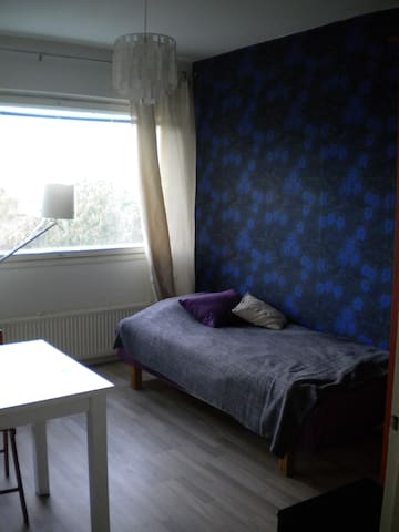 A peaceful room in Helsinki - Helsinki - Daire