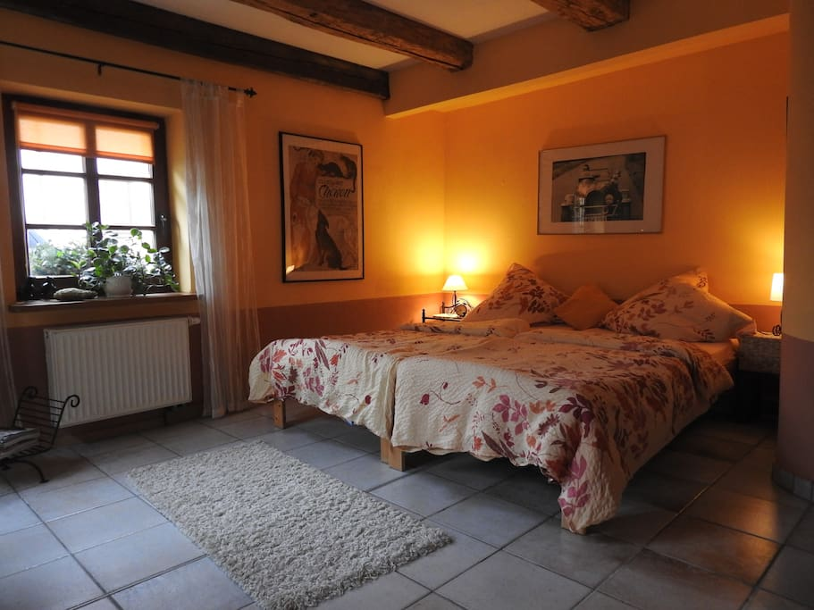 Wohnschlafzimmer