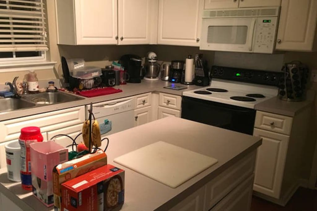 Fully stocked kitchen with just about any appliance you could need!