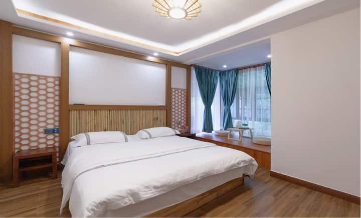 张家界竹林幽居•清幽榻榻米大床房