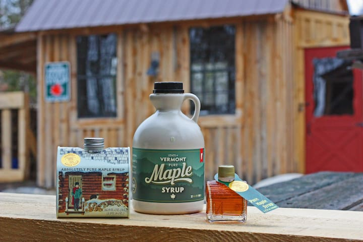 Pure Vermont Maple Syrup!