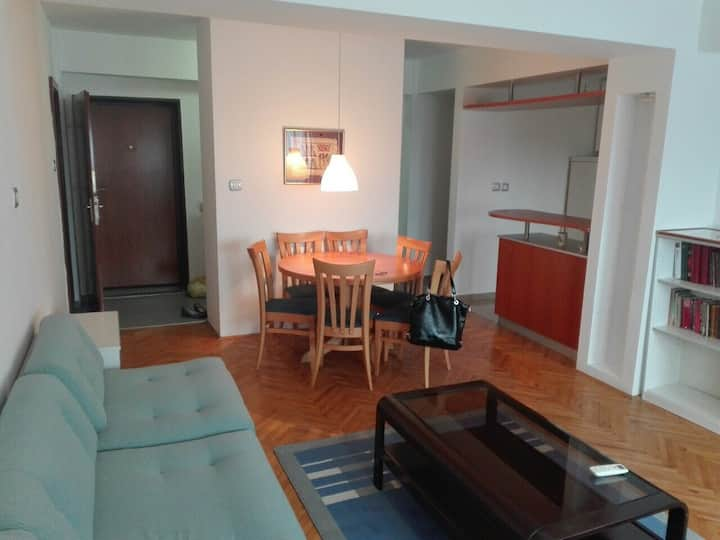 Positive apartment in the center,wifi,parking