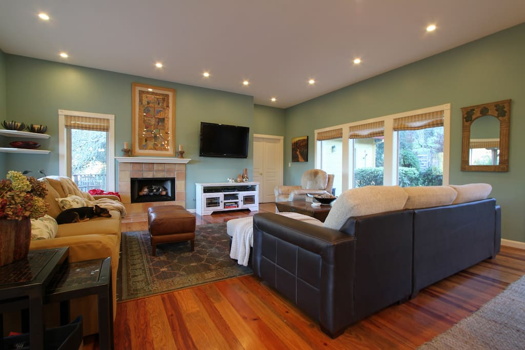 Great Room--a place to gather everyone together