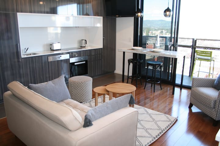 Adelaide CBD, Stylish ART apartment,secure carpark