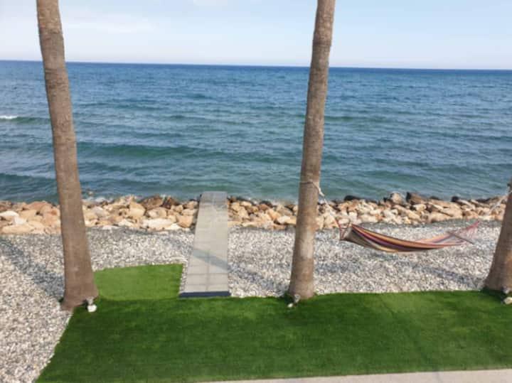 Beachfront Two bedroom House in Larnaca