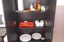 Utensilios de cocina a su disposición