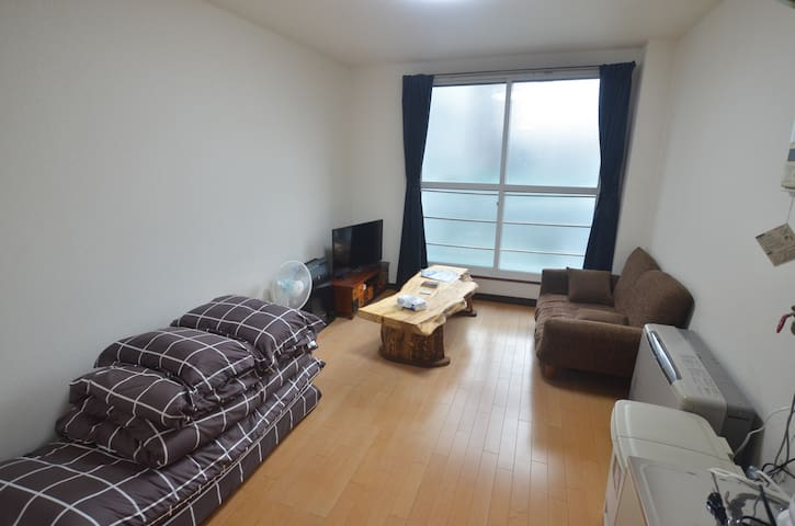 [Room302] of a whole apartment, close to Susukino!